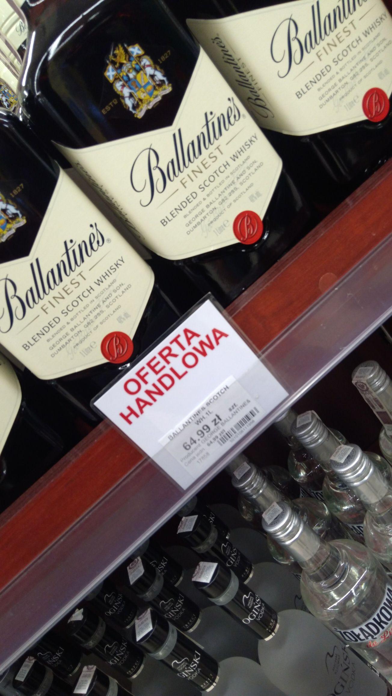 Whisky Ballantines 1L Frac Rzeszów ul. Lwowska