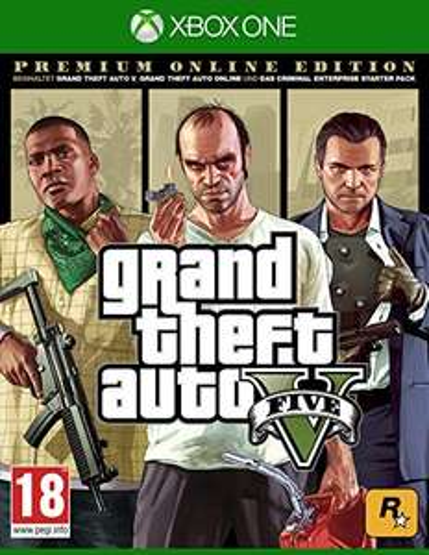Grand Theft Auto V - Premium Edition [AT-PEGI] - [Xbox One]