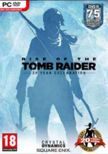 Rise of the Tomb Raider 20 Year Celebration PC
