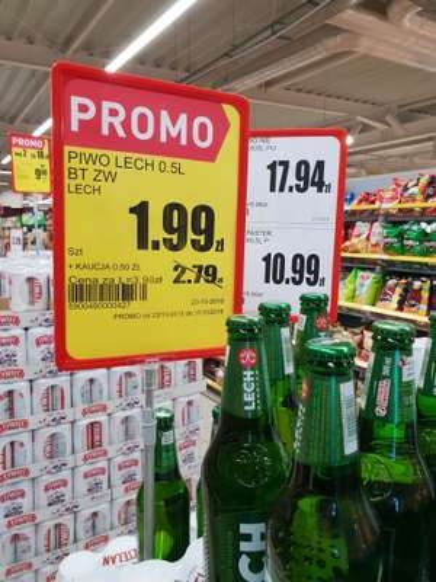 Lech Premium Intermarche Środa Wielkopolska