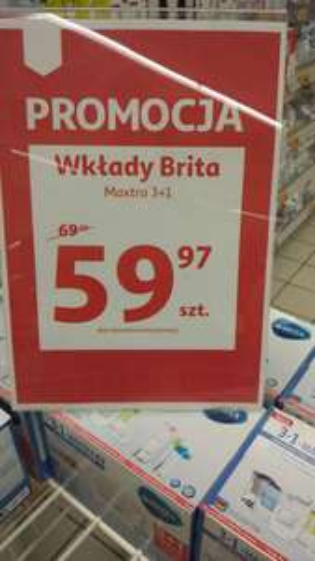 Wkłady Brita Maxtra + @ Auchan
