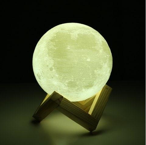 Duża lampa księżyc 15CM @Dresslily