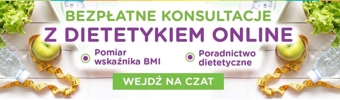 Bezpłatne konsultacje z dietetykiem (online) @ Natura