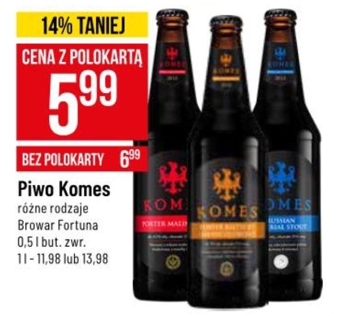 Piwo Komes (różne rodzaje) @ POLOmarket