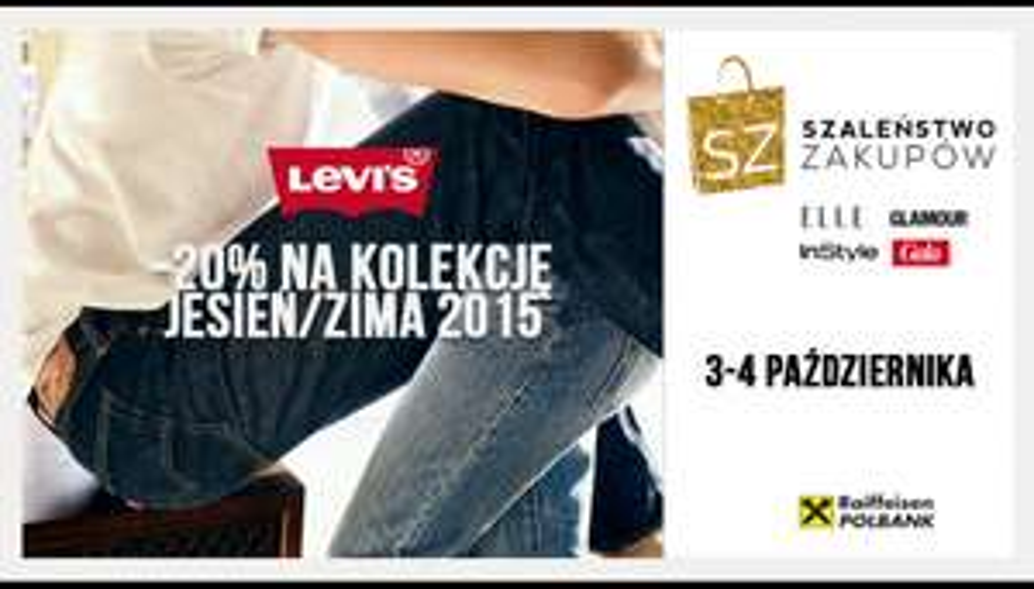 -20% na nową kolekcję LEVIS