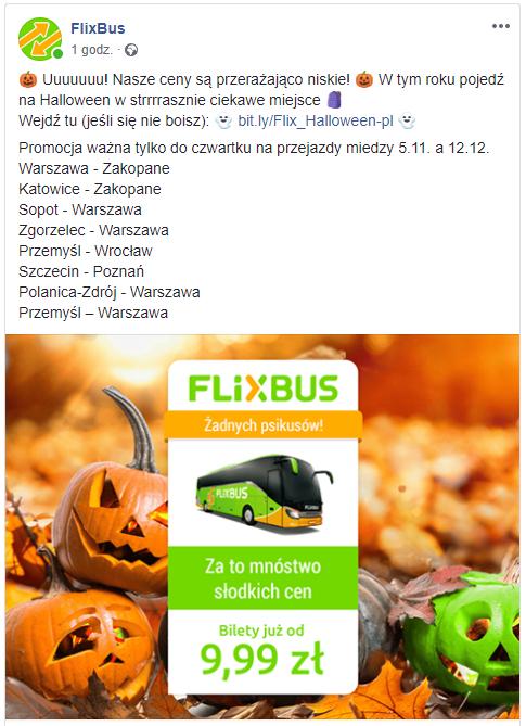 Flixbus bilety od 10zł. m.in Wawa-Zakopanem/Sopot