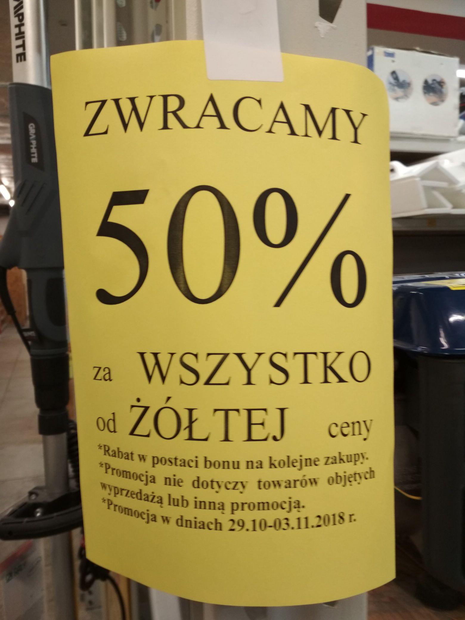 Majster likwidacja sklepu 50% w bonie. Jastrzębie-Zdrój.
