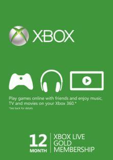Xbox Live Gold 12 miesięcy (bez VPN) @CDkeys