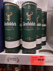 GLENFIDDICH 12YO SINGLE MALT SCOTCH WHISKY 0,5L