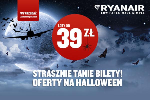 Strasznie tanie bilety Ryanair