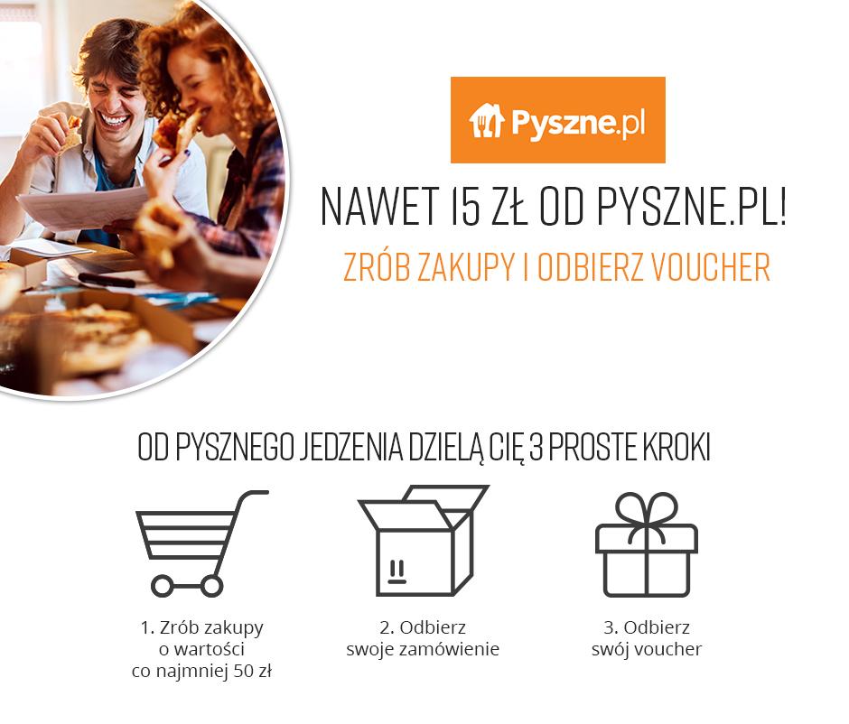 Vouchery na Pyszne.pl od księgarni Ravelo i Lideria
