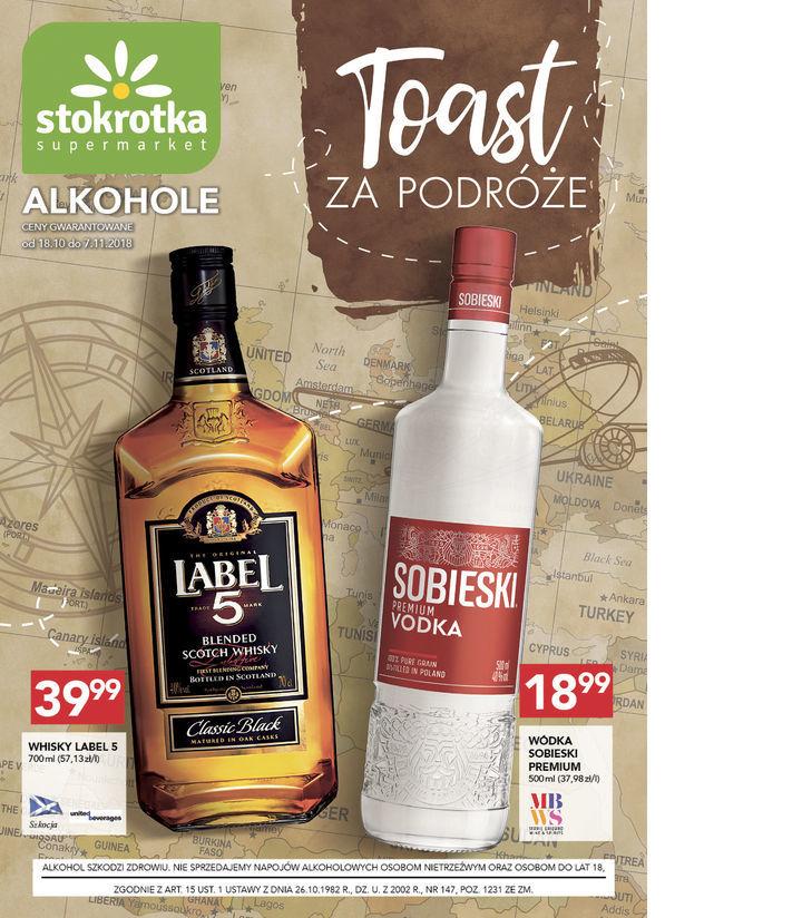 Whisky Label 5 - 700 ml (Stokrotka)