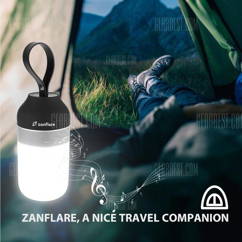Zanflare - Lampka - Głośnik Bluetooth