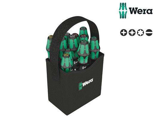11 wkrętaków Wera Kraftform w torbie transportowej