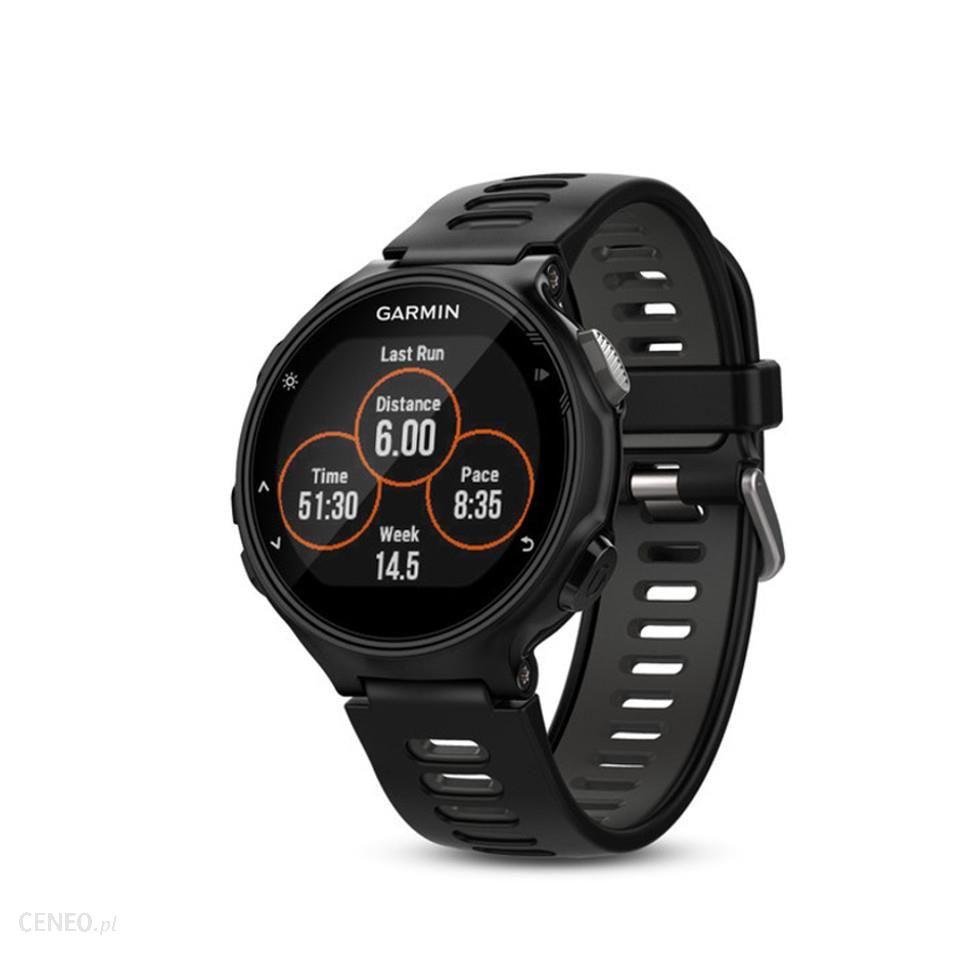 Garmin Forerunner 735XT GPS Watch HRM Bundle Czarno szary