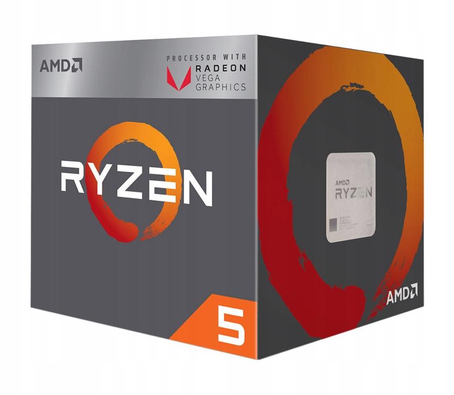 Procesor AMD RYZEN 5 2400G 3.6GHz/3.9GHz