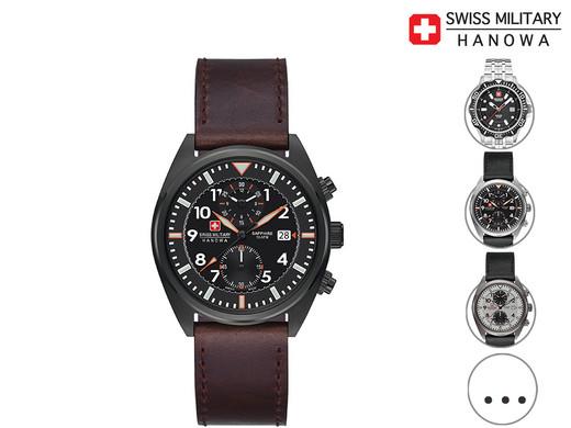 Zegarek Kwarcowy ze szkłem szafirowym Swiss Military
