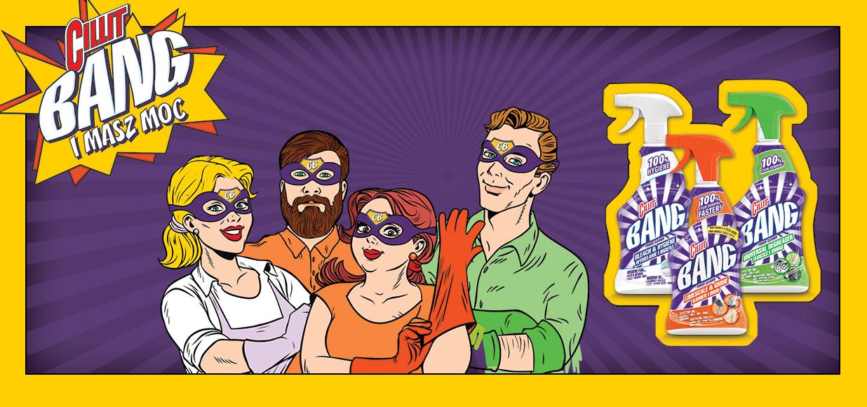 Showmax na 30 dni przy zakupie dwóch produktów Cillit Bang @ Tesco