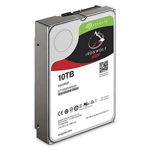 "SEAGATE IRONWOLF 10TB 3,5"" (ST10000VN0004) @Amazon.fr"