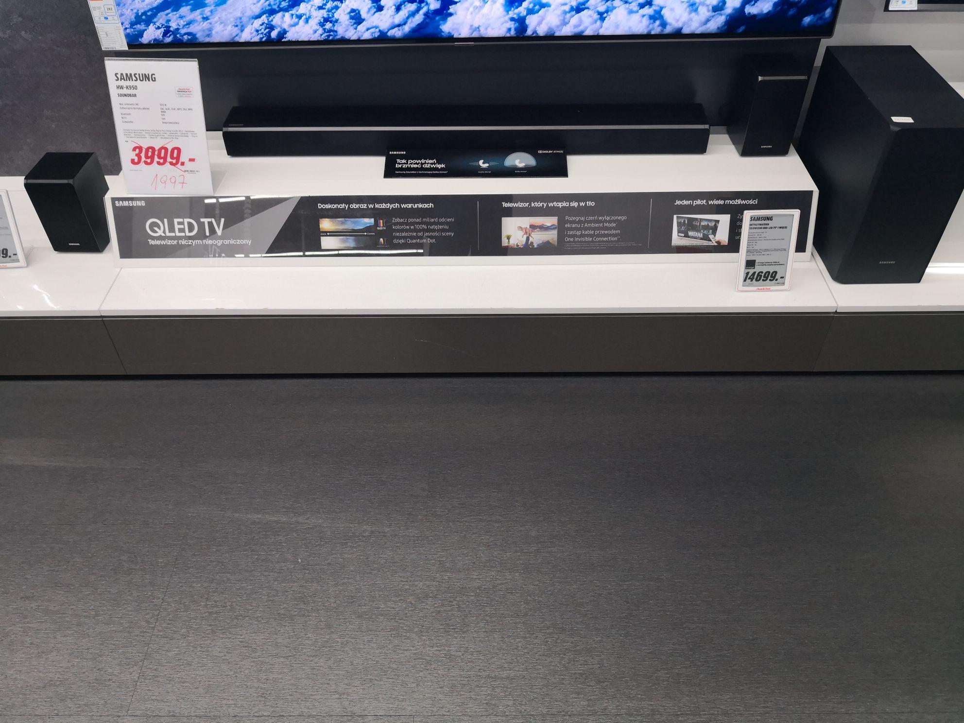 Soundbar 5.1 Samsung HW-K950 Dolby Atmos.