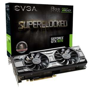 EVGA  GeForce GTX 1070 SC GAMING