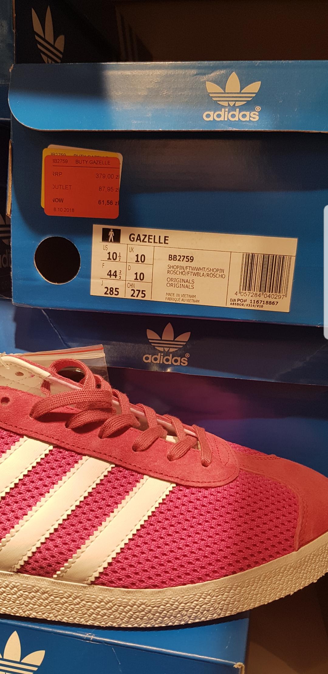 ADIDAS GAZELLE BB2759 Adidas Factory Annopol
