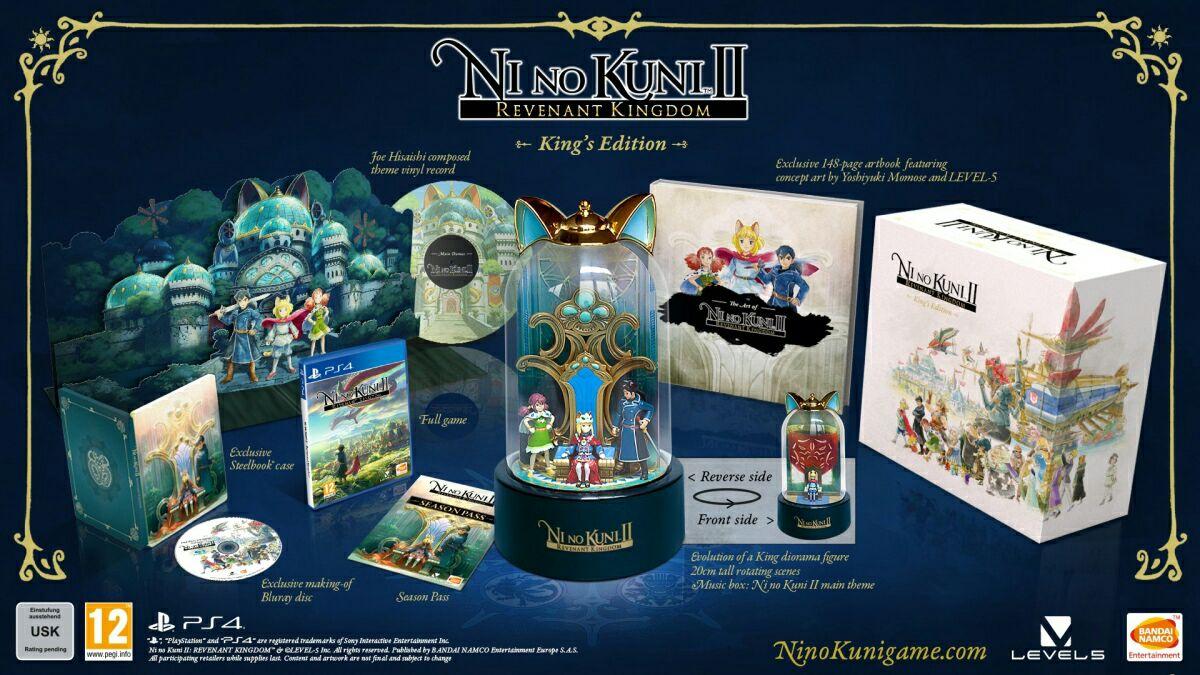 Ni no Kuni ll edycja kolekcjonerska PS4