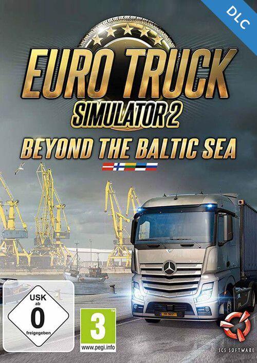 Euro Truck Simulator 2 Beyond the Baltic Sea DLC PC Preorder @cdkeys.com