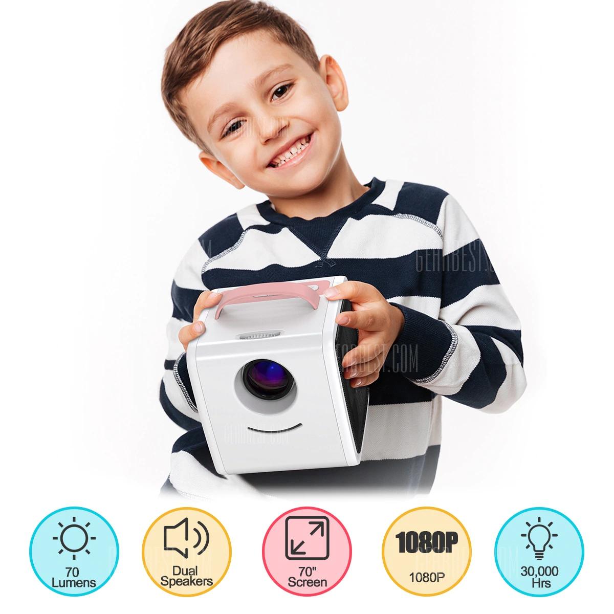 Excelvan Q2 budżetowy projektor video dla dzieciaków GearBest