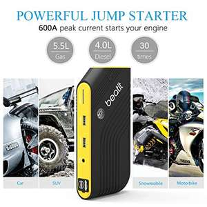 Power Bank 14000mAh / Jump Starter - rozruch 600A - Beatit B9 C01 - 24,99 €