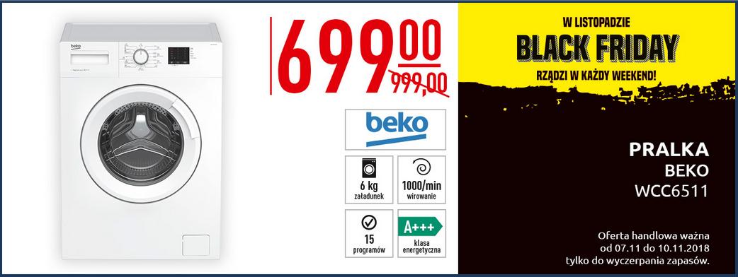 Pralka Beko WCC 6511 za 699zł @ Carrefour