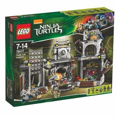 LEGO Ninja Turtles - Inwazja na kryjówkę żółwi (nr 79117) @ Merlin