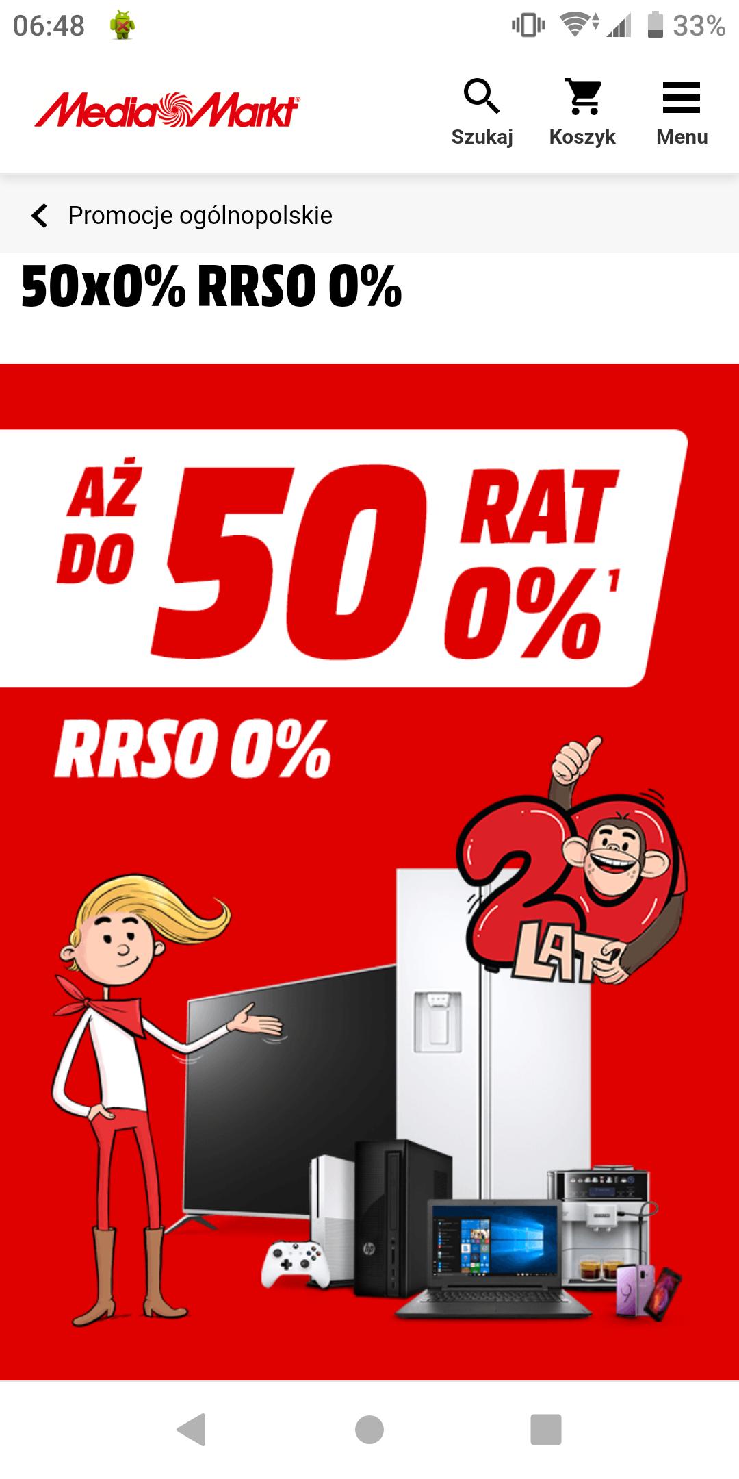 Mediamarkt do 50 rat 0%