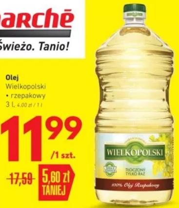 Olej Wielkopolski 3l Intermarche