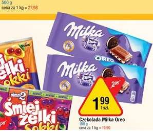 Czekolada Milka Oreo E.leclerc Gdańsk
