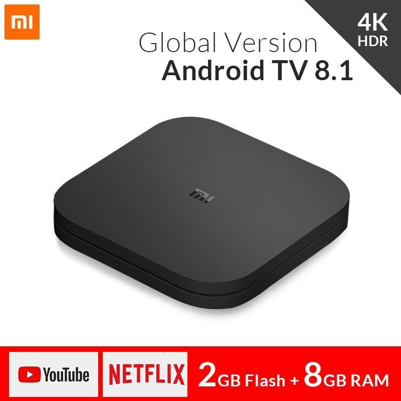 Xiaomi Mi TV BOX S (4K, smart TV, Netflix) @ Joybuy