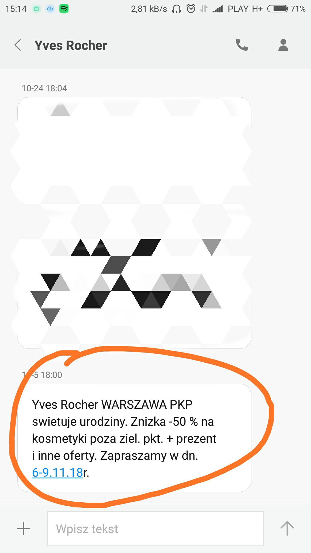 Yves Rocher Warszawa PKP -50%