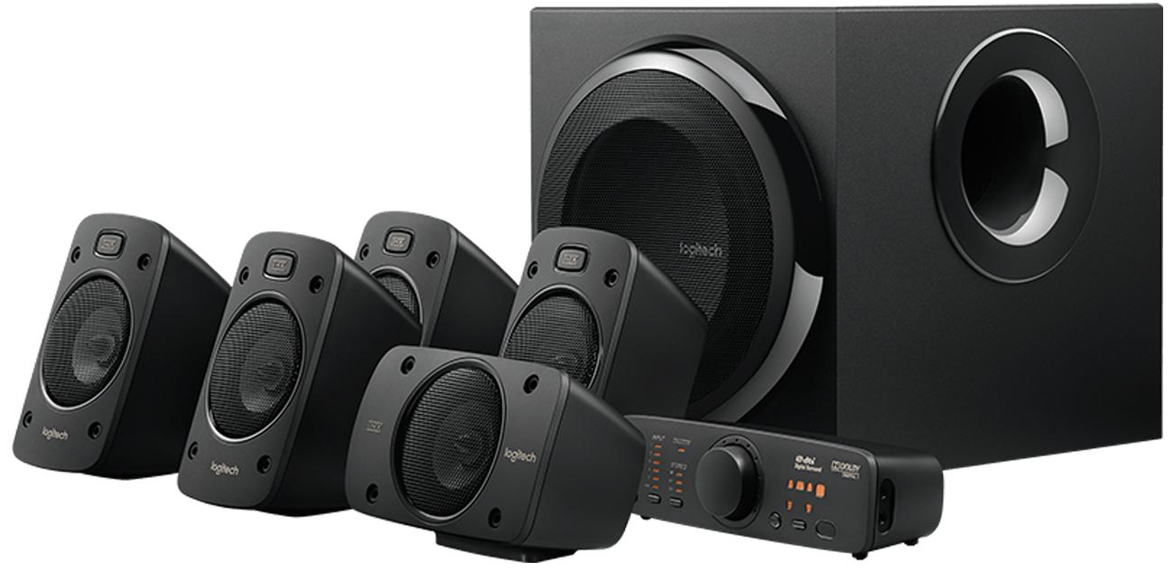 Logitech 5.1 Z906 Surround Sound Speakers