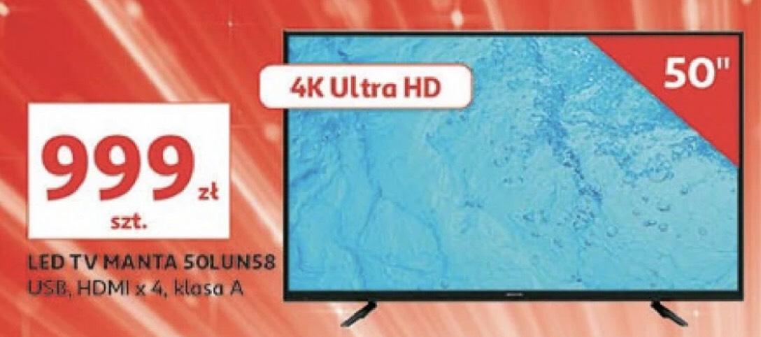 Manta 50 cali 4K UltraHD Auchan