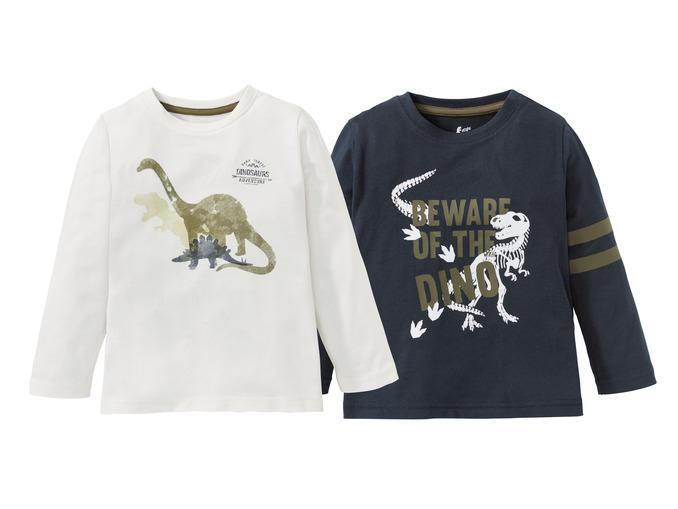 Dziecięce koszulki (2szt.) za 14,99zł + inne ciuszki @ Lidl