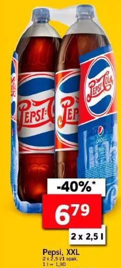 Pepsi 2x 2,5l w Lidlu