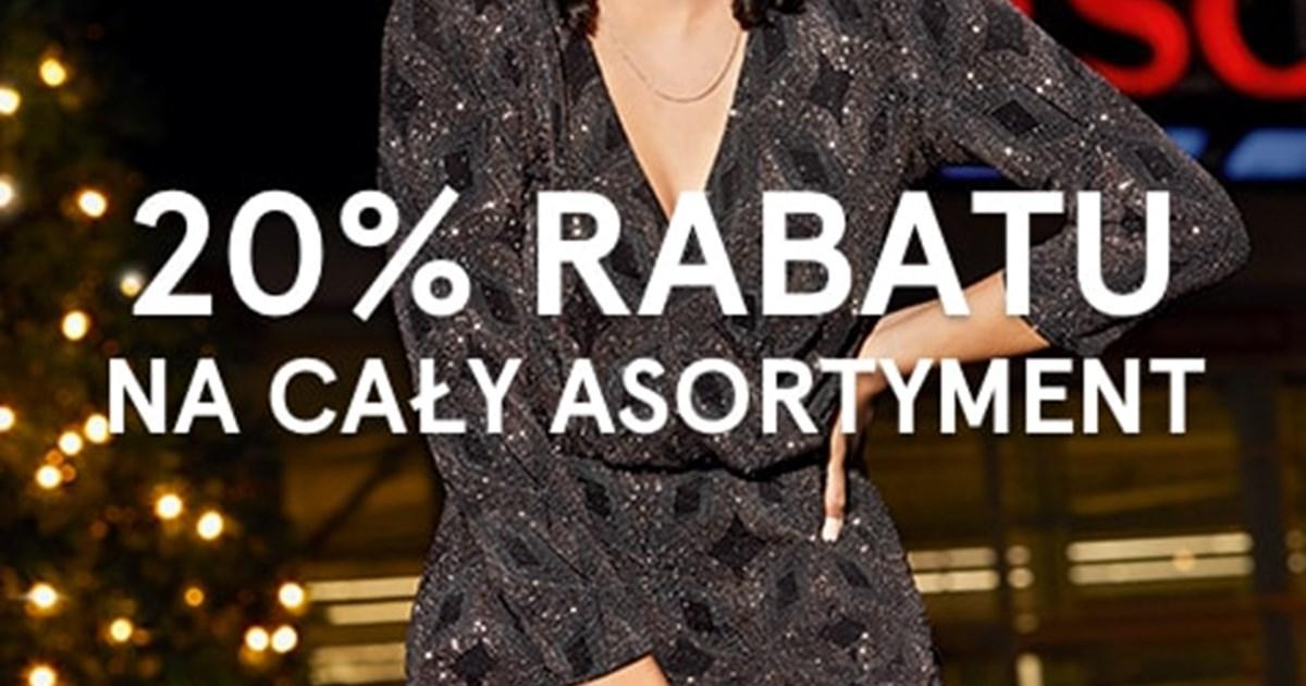 -20% na cały asortyment odzieży F&F z kartą Clubcard @Tesco
