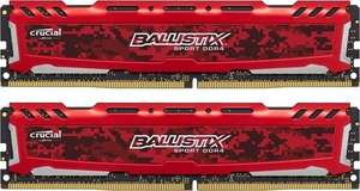 Pamięć Ballistix Sport LT DDR4, 2x8GB, 2666MHz, CL16