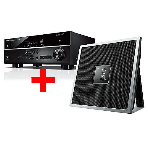 Amplituner Yamaha RX-V585 7.2 Multiroom + głośnik yamaha ISX-18D Cyberport.de