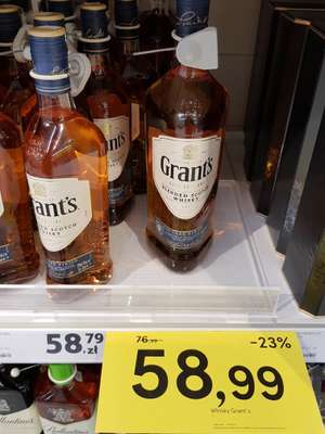 Whisky Grant's Cask Editions @ Tesco (Lublin)