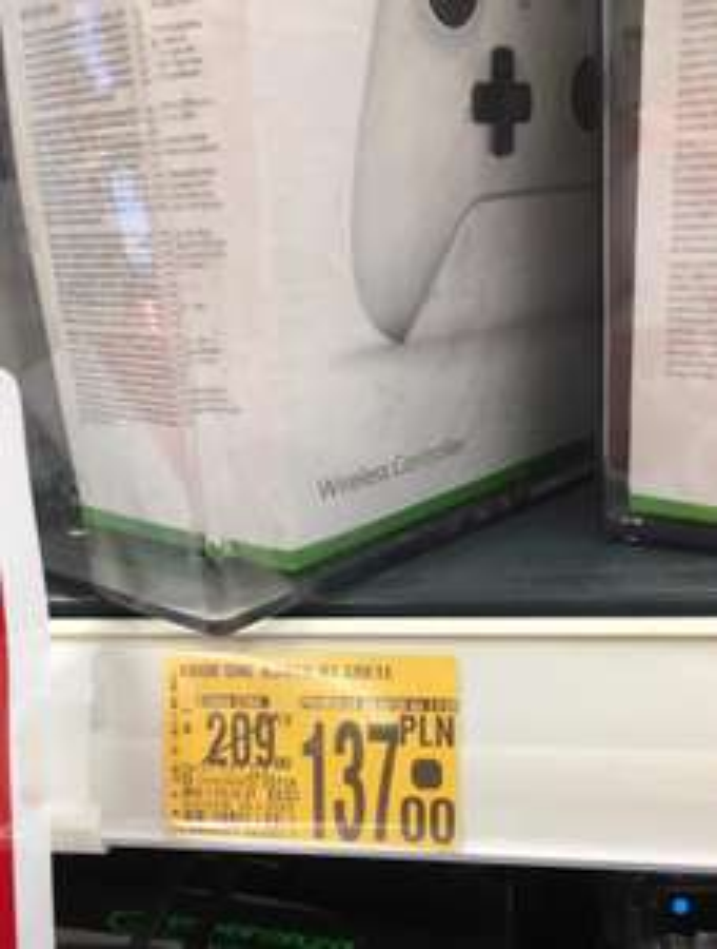 Xbox One Pad Kontroler Biały @Auchan Katowice