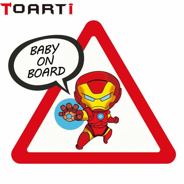 Naklejki na samochód TOARTI