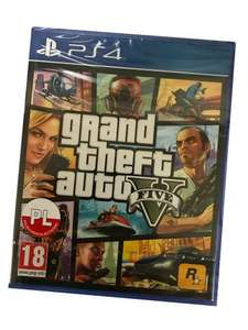 Grand Theft Auto V (GTA5) PS4, gra w folii po polsku