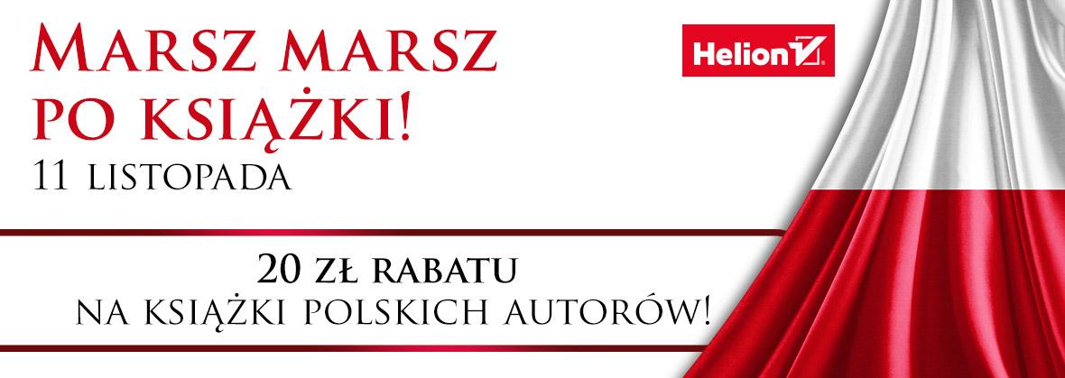 Do 50% rabatu na polskich autorów (lista okazji) @ Helion, OnePress, Sensus, Editio, Bezdroża