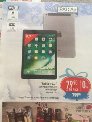 tablet iPad Air 1 odnowiony @ Carrefour